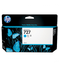 hp 727, ink t930, inkt t920, cyaan, cyan, 130ml