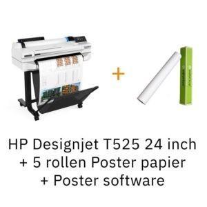 HP Designjet T525 24 inch retail combideal