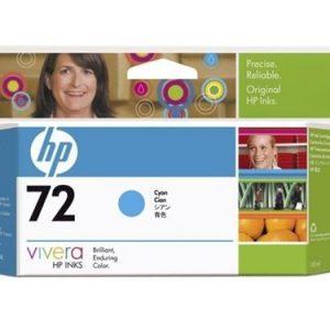 HP 72 Cyaan inkt