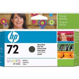 HP 72 Matte Black / MK inkt