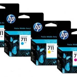 Inkt set HP Designjet T520 en T120