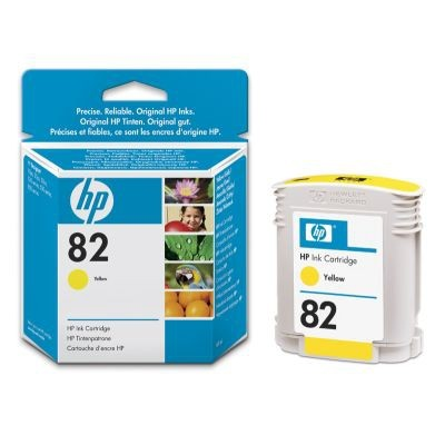 HP 82 69ml geel