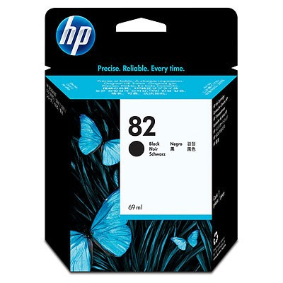 HP 82 69ml zwart