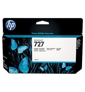 hp 727, ink t930, inkt t920, photo zwart, black, 130ml