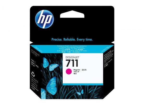 HP 711 Magenta inkt cartridge 29 ml