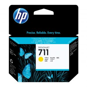 HP 711 Gele inkt cartridge 29 ml