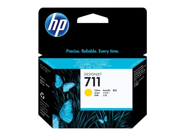 HP 711 Gele inkt cartridge 29 ml