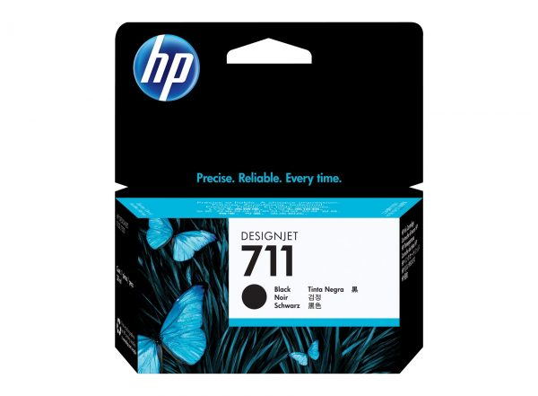 HP 711 Zwarte inkt cartridge 38 ml