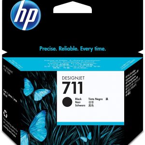 HP 711 Zwarte inkt cartridge 80 ml