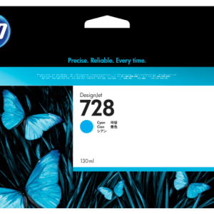 HP 728 Cyaan inkt cartridge 130 ml