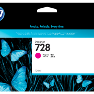 HP 728 Magenta inkt cartridge 130 ml
