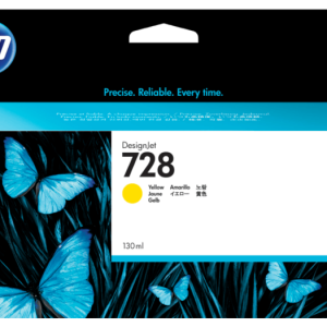 HP 728 Gele inkt cartridge 130 ml