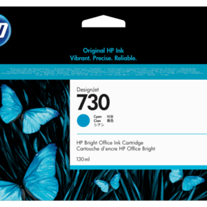 HP 730 Cyaan inkt cartridge 130 ml