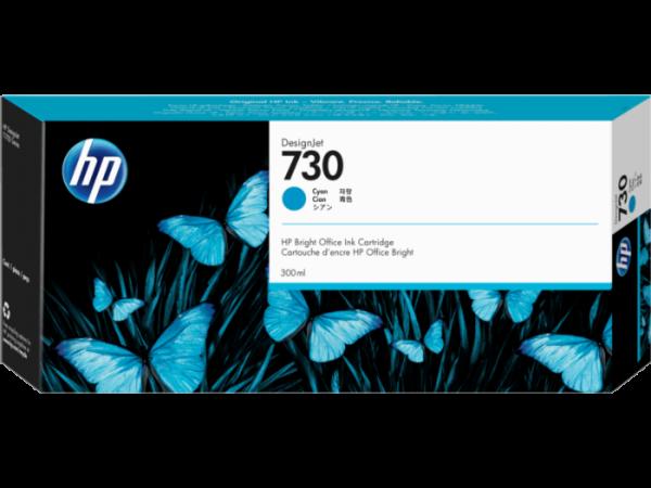 HP 730 Cyaan inkt cartridges 300 ml