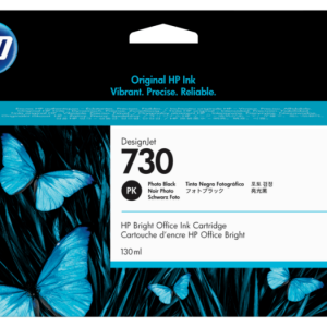 HP 730 Foto zwart inkt cartridge 130 ml