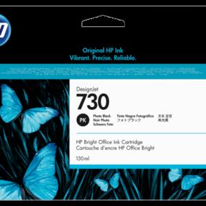 HP 730 Foto zwart inkt cartridge 130 ml