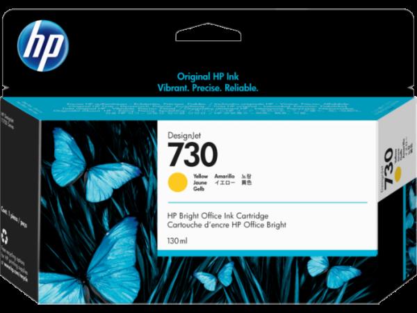 HP 730 Gele inkt cartridge 130 ml