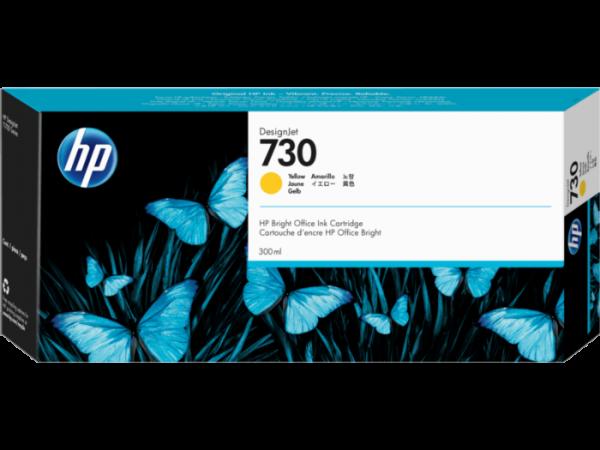 HP 730 Gele inkt cartridge 300 ml