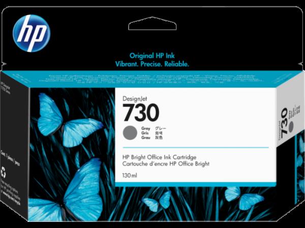 HP 730 Grijs inkt cartridge 130 ml
