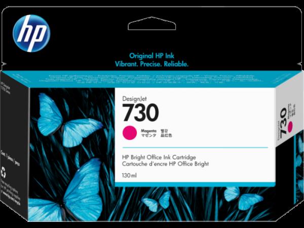 HP 730 Magenta inkt cartridge 130 ml