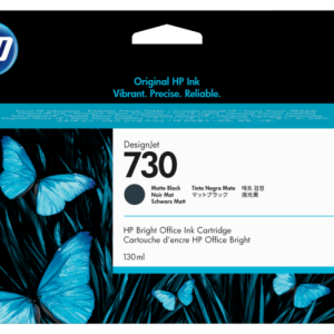 HP 730 Mat zwart inkt cartridge 130 ml