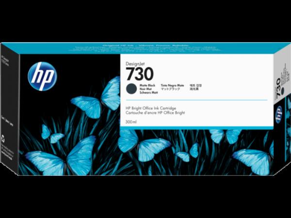 HP 730 Mat zwart inkt cartridge 300 ml
