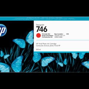 HP 746 Chromatic red inkt cartridge 300 ml