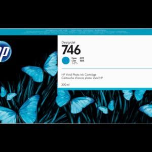 HP 746 Cyaan inkt cartridge 300 ml