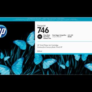 HP 746 Foto zwart inkt cartridge 300 ml