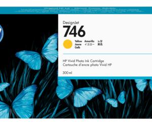 HP 746 Gele inkt cartridge 300 ml