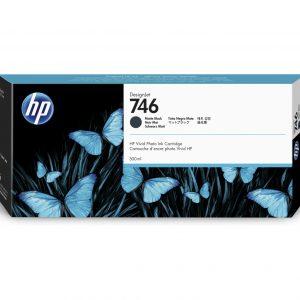 HP 746 Mat zwart inkt cartridge 300 ml