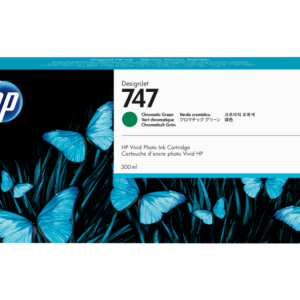 HP 747 Chromatisch groene inkt cartridge 300 ml