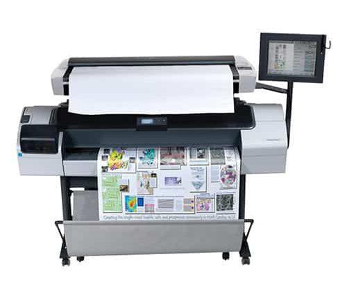HP Designjet T1200 Inkt