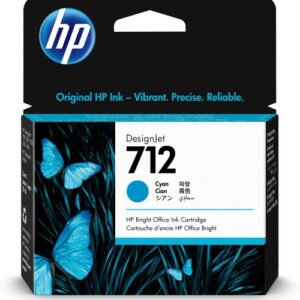 HP 712 Cyaan inkt cartridge 29 ml