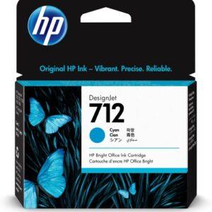 HP 712 Cyaan inkt cartridge 29 ml