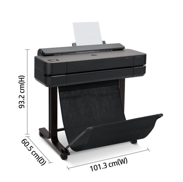 HP Designjet T630 24 inch afmetingen
