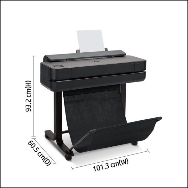 HP Designjet T650 24 inch afmetingen
